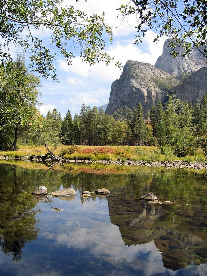 A file photo of the Merced River in California's Yosemite National Park. Photo: Jim Kellett, AP