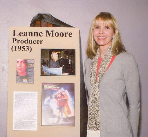 Leanne Moore graduated from Thomas Jefferson High School in Port Arthur. She then went on to produce several television movies and series? such as ?The Sarah Connor Chronicles? and ?Zoey 101.? (Photo from the website for the Museum of the Gulf Coast.)