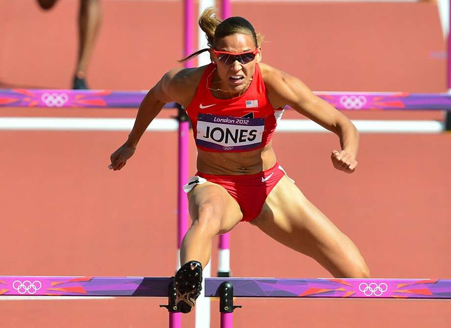 Lolo Jones of the United States, who capped a year of strong performances by finishing fourth in the 100-meter hurdles at the Olympics, was verbally shredded over her appearance. Photo: Gabriel Bouys, AFP/Getty Images