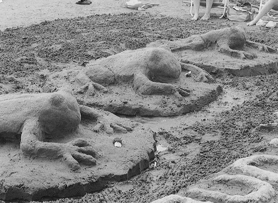 Milford's Great American Sand Sculpture Competition takes place rain or shine on Saturday, July 19. Photo: Contributed Photo