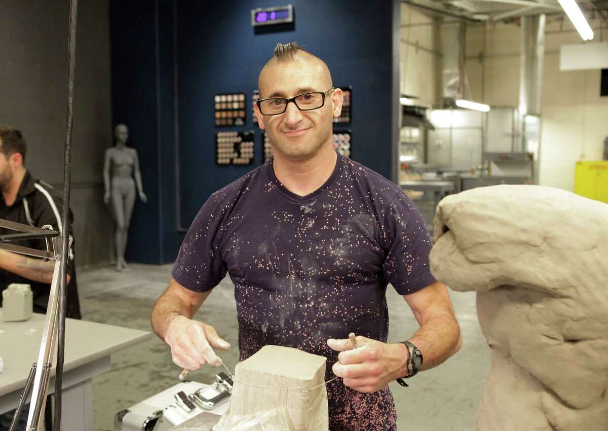 """Special Effects wizard Joe Castro of Helotes is at the eye of the dramatic storm on the new season of """"Face Off."""""""
