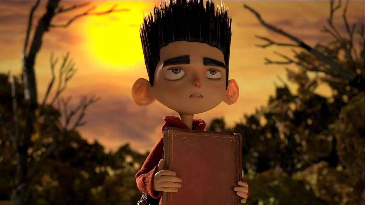 This film image released by Focus Features shows the character Norman, voiced by Kodi Smit-McPhee, in the 3D stop-motion film,