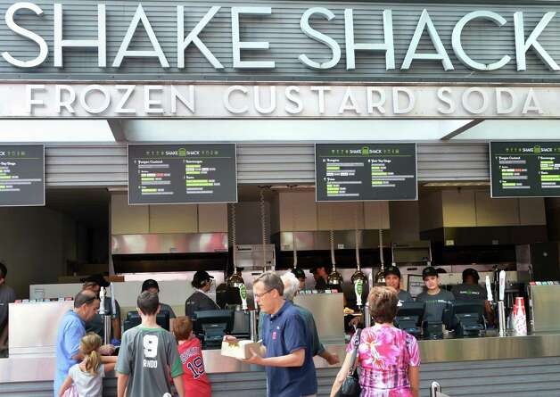 The Shake Shack at The Post at Saratoga Race Course Wednesday Aug. 15, 2012. (John Carl D'Annibale / Times Union) Photo: John Carl D'Annibale / 00018831A