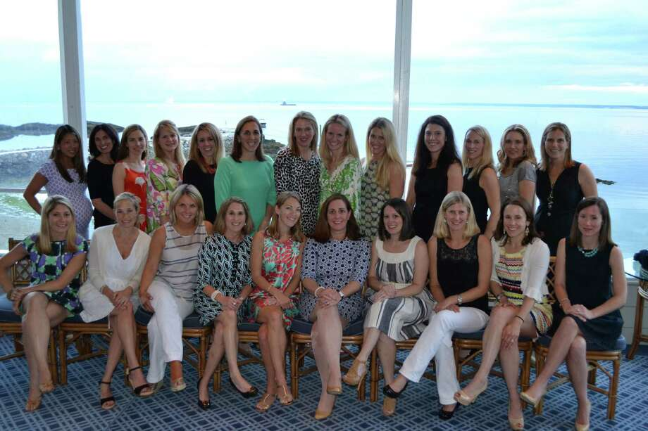 The 2012-13 board of directors of Opus Person-to-Person are, seated from left in front row, Kate Wartels, Kristin Levinson, Meghan Shanley, Jen Forlizzi, Co-Presidents Sarah Konecke and Erica Wood, Renee Schwandt, Anne Fox, Diana Nehro and Laura OíGrady. Back row, Patty Deery, Linda Costello, Vice President Kristie Calvillo, Lisa Malloy, Kerry Coppola, Betsy Hendrickon, Kate Kaplan, Diane Sedlock, Tori Bolger, Jenny Gjervold, Katie Kern, Heather Tucker and Shelby Smith. Photo: Contributed