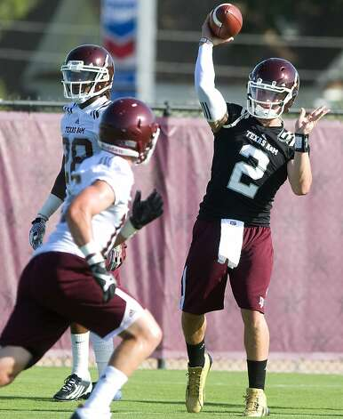 Texas A&M coach Kevin Sumlin announced Wednesday that 2011 Kerrville Tivy grad Johnny Manziel will start the team's season opener at Louisiana Tech on Aug. 30. Manziel, who threw for 3,609 yards and rushed for 1,674 as a senior for the Antlers, redshirted at A&M in 2011.