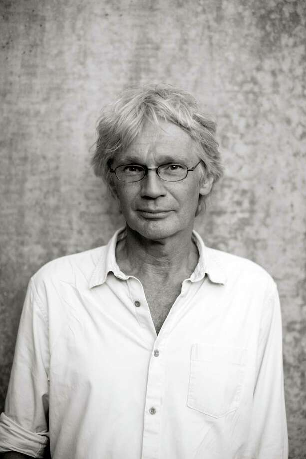 "Lars Aberg, author of ""West"" with photographer Lars Strandberg Photo: Lars Strandberg"