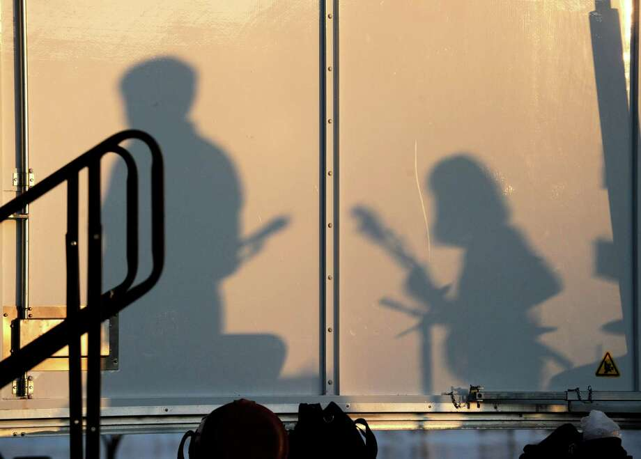 The Cynthia Sayer Quartet performs at Roger Sherman Baldwin Park in Greenwich, Thursday night, Aug. 16, 2012. Photo: Bob Luckey / Greenwich Time