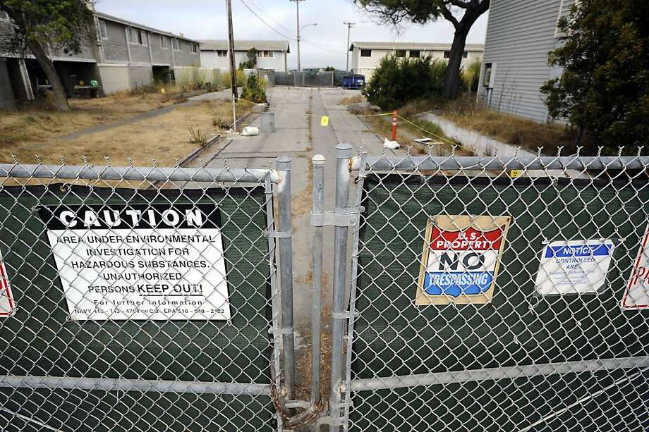 A radiation cleanup site near the former location of a nuclear war training facility. Photo: Michael Short, The Bay Citizen