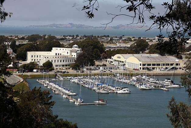 TREASURE ISLAND  Developers have set aside the perimeter on the island for a levee that will rise with the seas. Photo: Liz Hafalia, The Chronicle