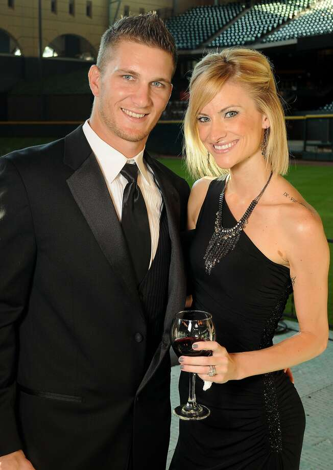 Brandon and Shawn Barnes at the Astros Wives' Gala. (Dave Rossman / For the Houston Chronicle)