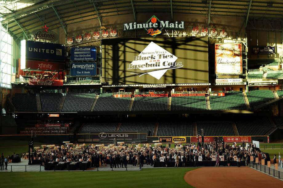 The Astros Wives' Gala at Minute Maid Park. (Dave Rossman / For the Houston Chronicle)
