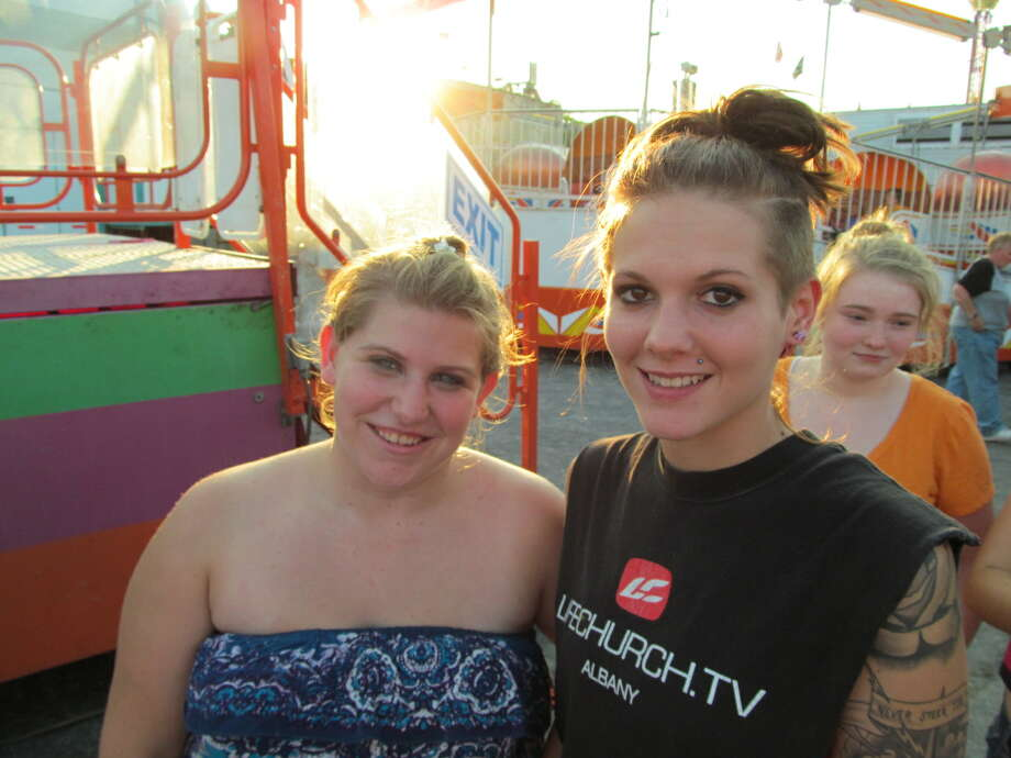 Were you Seen at the Altamont Fair on Thursday, August 16, 2012? Photo: Kristi Gustafson Barlette/Times Union