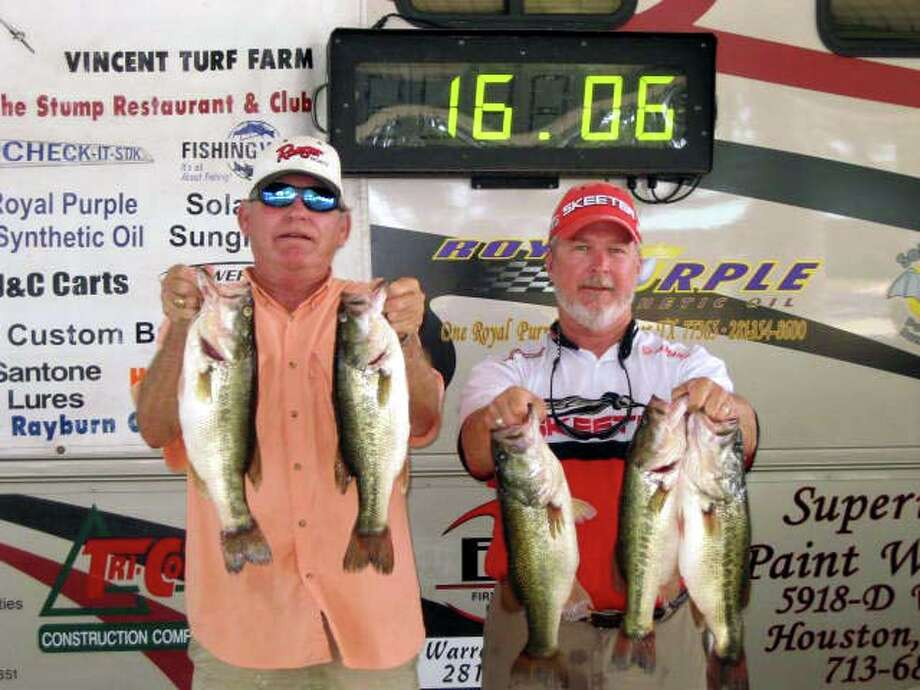 Larry Weppler and Dennis Fikes came in 3rd with their sack of fish that weighed 15.06 lbs.