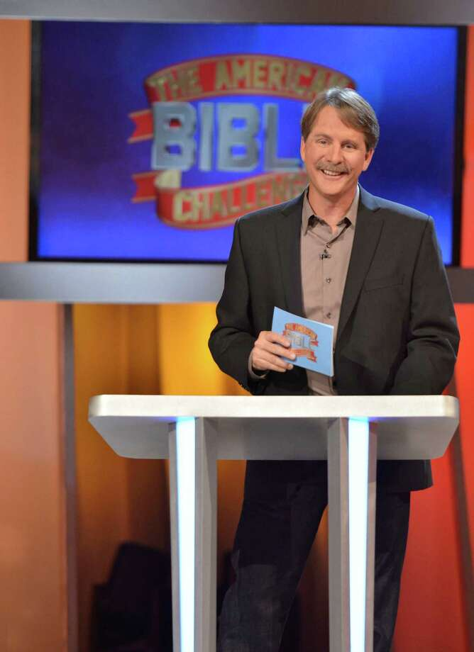 """Jeff Foxworthy hosts 'The American Bible Challenge,"""" a new game show that tests contestants' knowledge of the Good Book. It premieres at 7 p.m. Thursday on GSN. Photo: --"""