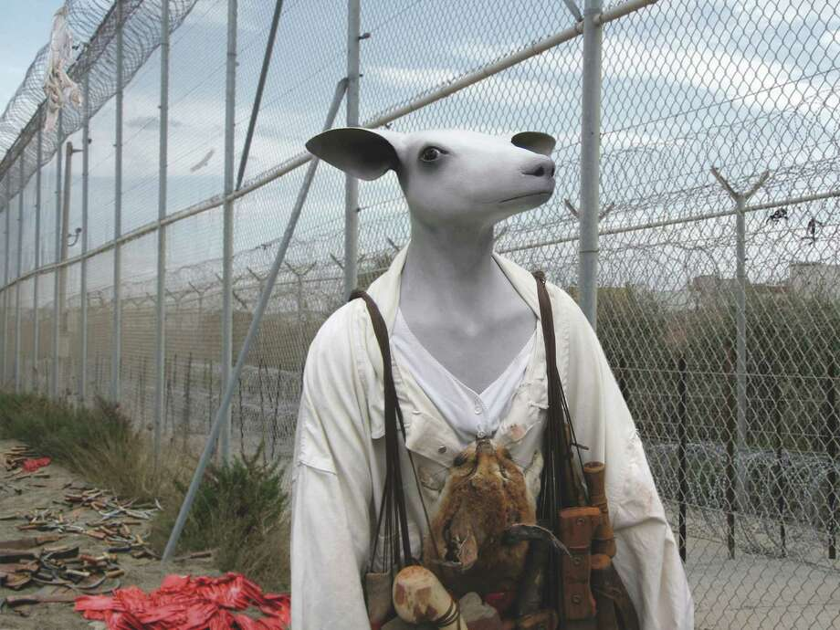"""""""Frontier with ghost"""" (detail) Photo: Courtesy The Artist"""