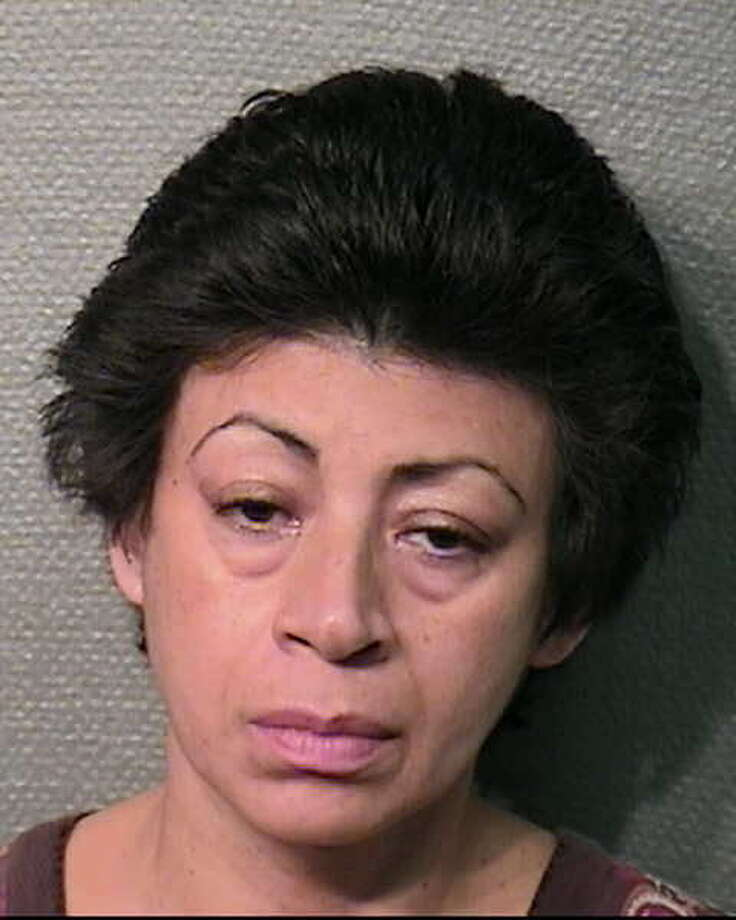 Tirza Bethsaida Magana, 48, is charged with felony endangering a child. The suspect, a nanny, was fired by a Houston family after she was seen on videotape abusing a baby in her care. Photo: Houston Police Department