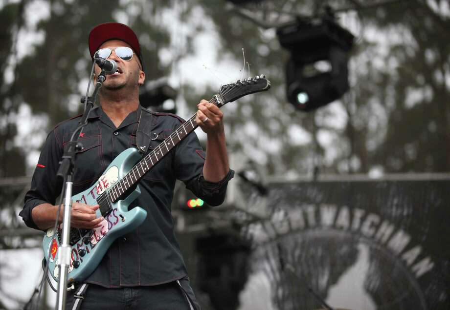 You may like us, we don't like you Tom Morello of  Rage Against the Machine and The Nightwatchman isn't a fan of Paul Ryan. Ryan has cited Rage Against the Machine as his favorite band.  Photo: Trixie Textor, Getty Images / 2012 Getty Images