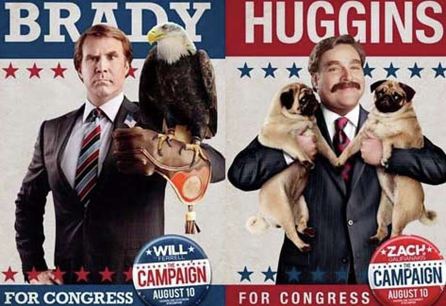 """The Campaign,"" a comedy starring Will Ferrell and Zach Galifianakis, is now playing in area movie theaters. Photo: Contributed Photo"