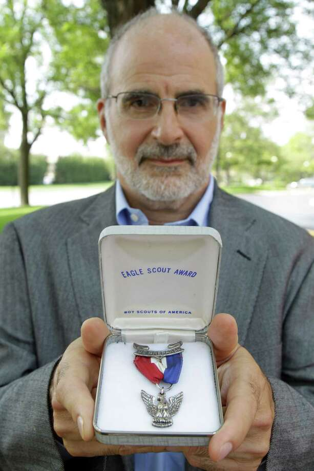 Robert Wise returned his Eagle Scout medal after the Boy Scouts announced it would exclude gays. Photo: M. Spencer Green / AP