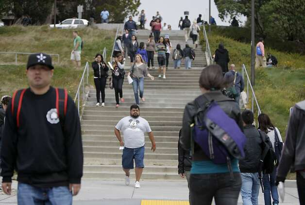 Students are seen at the City College of San Francisco on Wednesday, August 15, 2012 in San Francisco, Calif. Photo: Megan Farmer, The Chronicle