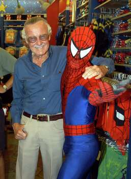 Some of the magic Stan Lee helped create behind Spider-Man was that he was a man who happened to be a superhero. Photo: Getty Images / Getty Images North America