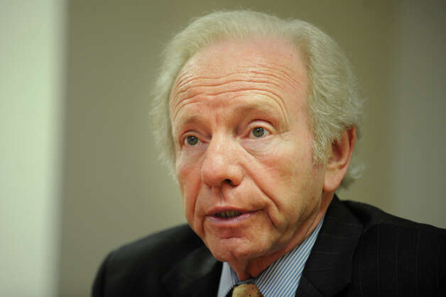 Senator Joesph Lieberman, Bridgeport, Conn. Jan. 11th, 2012. Photo: Ned Gerard