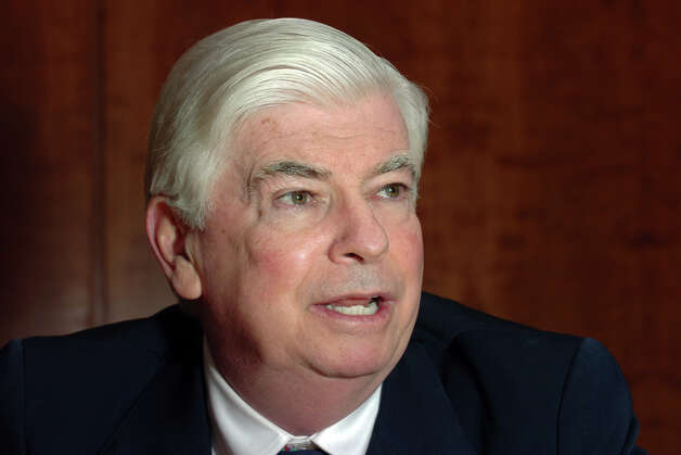 Former U.S. Senator Christopher Dodd, Bridgeport, Conn. March 31st, 2010. Photo: Ned Gerard, ST / Connecticut Post