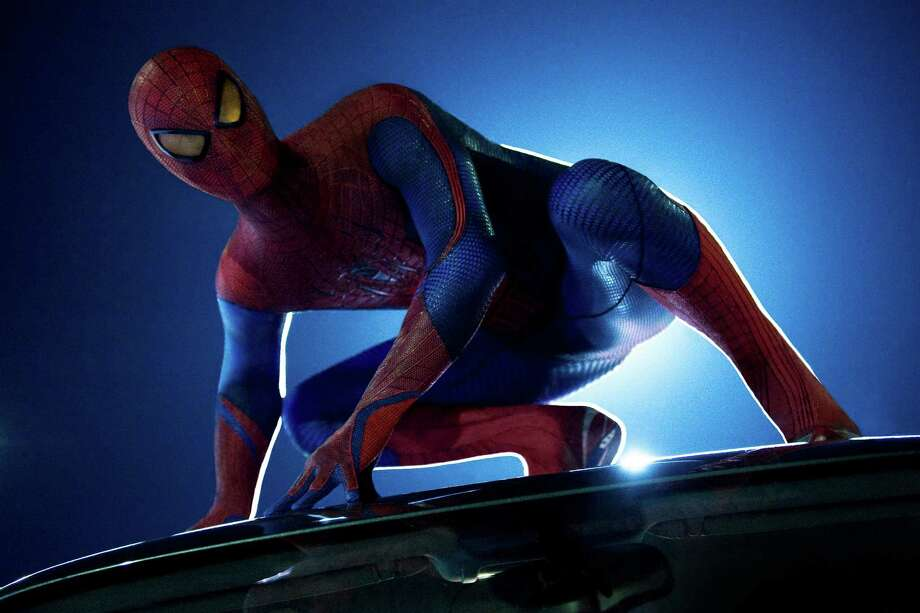 "THE AMAZING SPIDER-MAN Andrew Garfield stars as Peter Parker/Spider-Man in Columbia Pictures' ""The Amazing Spider-Man"" Photo: Columbia Pictures"