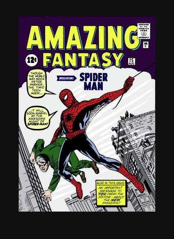 "Spider-Man made his first appearance in  the August 1962 issue of ""Amazing Fantasy"" No. 15. Photo: Marvel Entertainment"