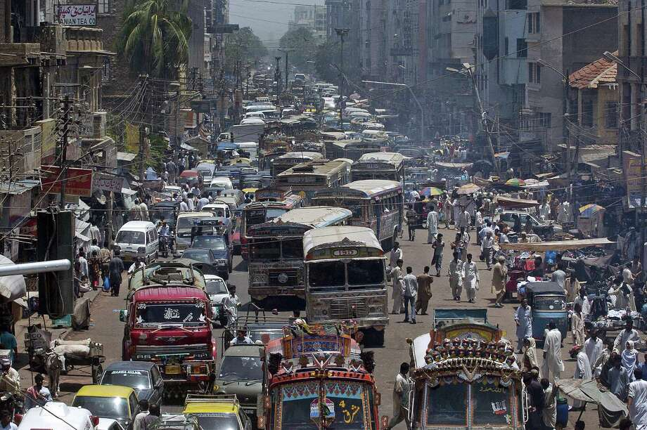 6. Karachi, Pakistan – Pakistan's most populous city received the lowest stability score of any reviewed by the Economist Intelligence Unit. Photo: ASIF HASSAN, Getty Images / 2007 AFP