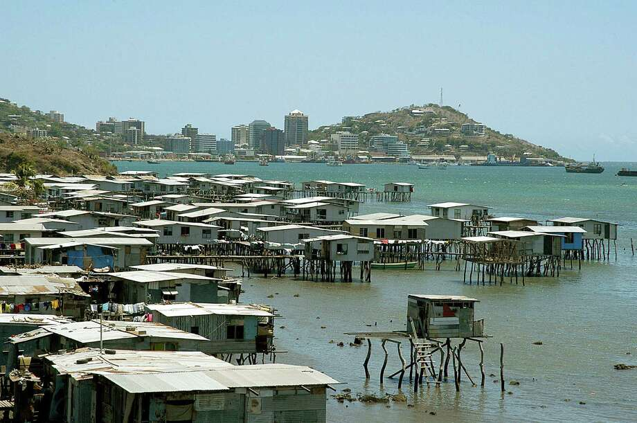 2. Port Moresby, Papua New Guinea – With just more than 300,000 residents, the New Guinea capital is the smallest city to make the bottom 10. Photo: ROCKY ROE, Getty Images / 2005 AFP