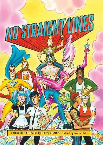 """No Straight Lines"" is a history of gay comics and the gay rights movement. Photo: Maurice Vellekoop, Fantagraphics Books"