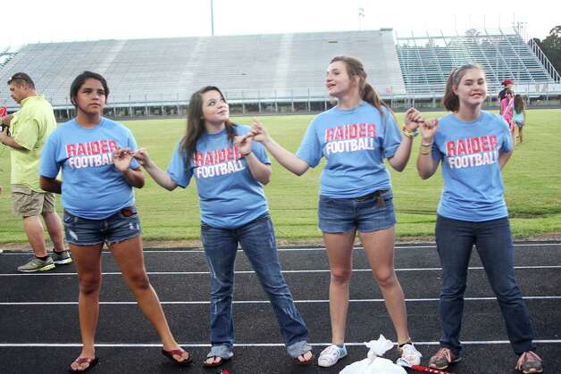 Lumberton Raider fans attended a Community Pep Rally held at the high school stadium on Thursday, Aug. 16 in preparation for the 2012-13 football season. Photo: David Lisenby