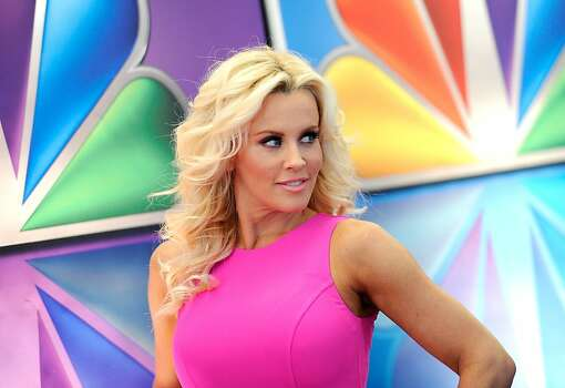 "FILE - This May 14, 2012 file photo shows ""Love In The Wild"" host Jenny McCarthy arrives for the NBC network upfront presentation at Radio City Music Hall in New York. McCarthy, who is from suburban Chicago, released a statement Friday, Aug. 17, 2012, saying that she is no longer romantically involved with Chicago Bears linebacker Brian Urlacher. (AP Photo/Evan Agostini, file) Photo: Evan Agostini, Associated Press"