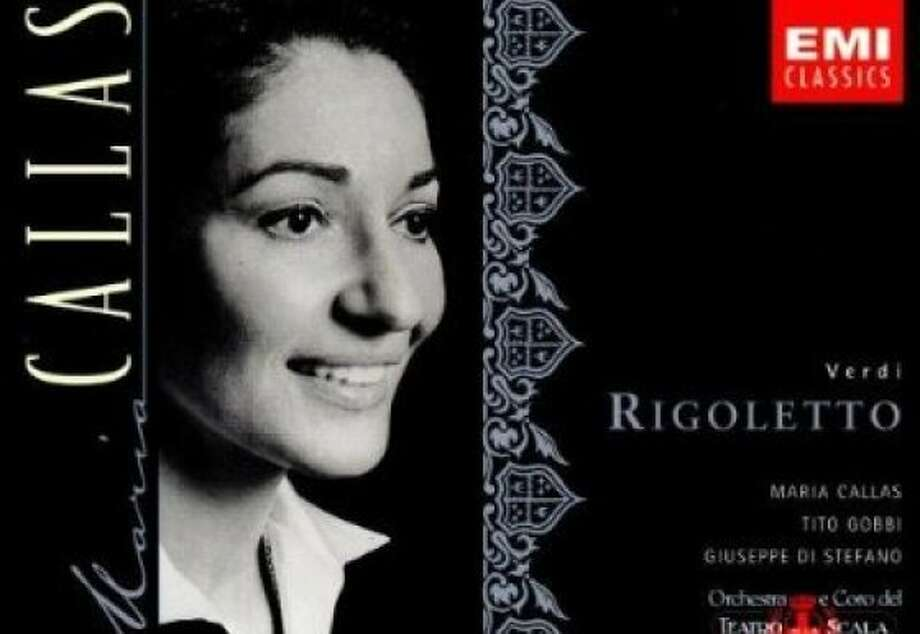 "CD cover: Maria Callas ""Rigoletto"" Photo: EMI Classics"
