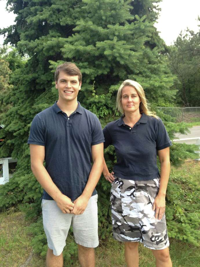 Staples football alumnus Chris Coyne and Katherine Price Snedaker of the Sports Conncussion Awareness and Prevention Program will host a Football Concussion Safety Night Thursday June 14 at Saugatuck Elementary School at 7 p.m. Photo: Contributed Photo