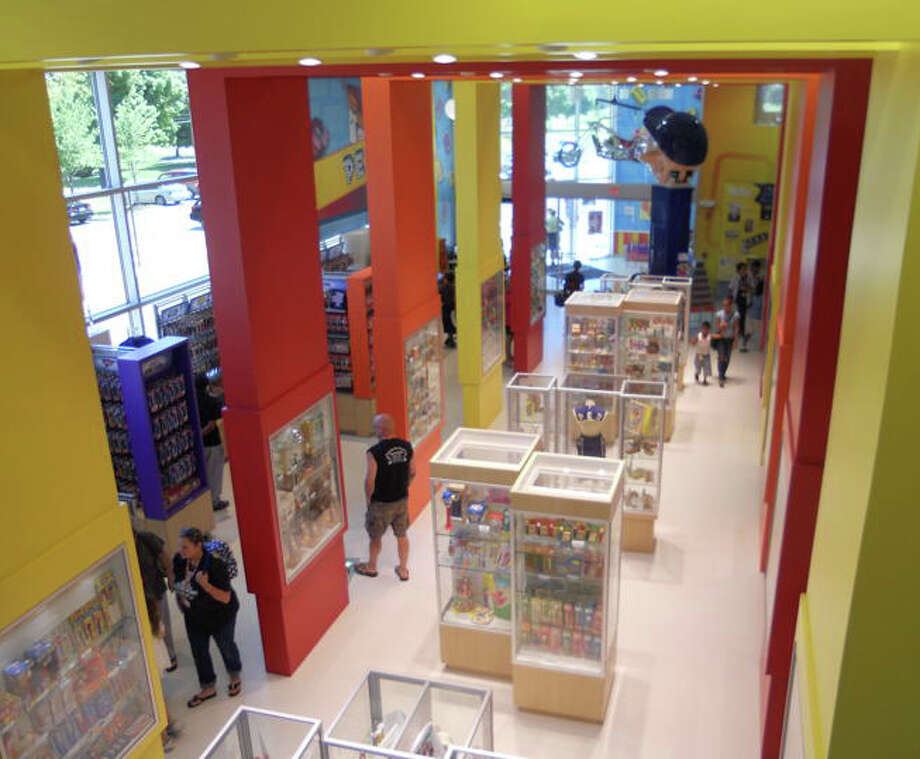 The Pez Candy Visitor Center in Orange lets fans of the iconic pellet candy get a close look at how it is made. Photo: Patti Woods / Fairfield Citizen contributed