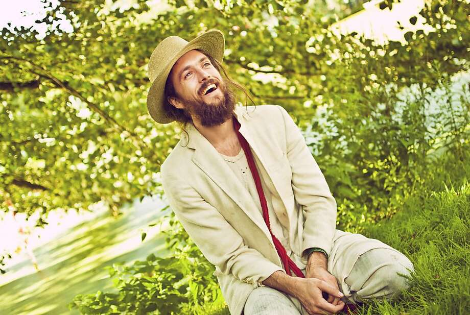 "Alex Ebert says Edward Sharpe and the Magnetic Zeroes aim to put on ""ramshackle"" shows in big venues. Photo: Erika Helin"
