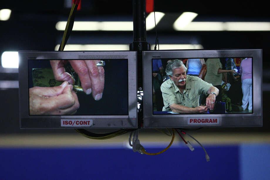 Monitors show what cameras are recording. Photo: JOSHUA TRUJILLO / SEATTLEPI.COM