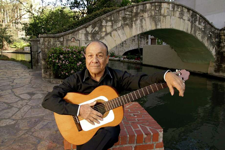 Local guitarist Willie Champion has been a musician for more than 67 years, and has a nightly gig at Las Canarias at Omni La Mansion del Rio Photo: COURTESY PHOTO