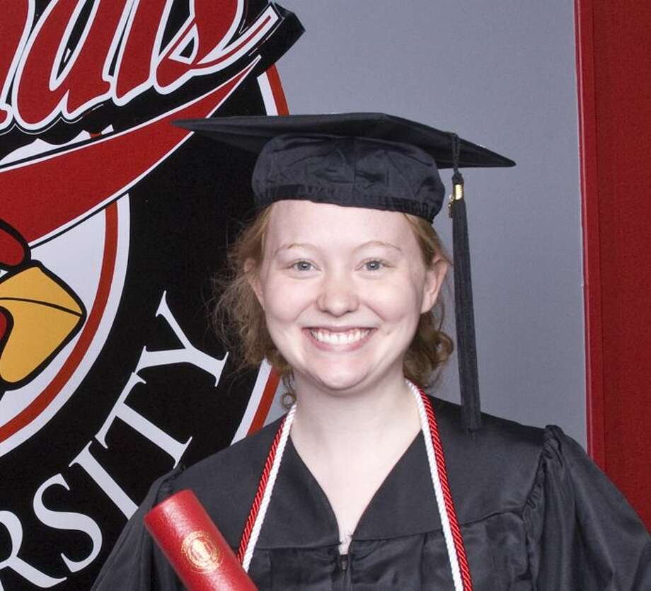 Maegan Walters of Lumberton was honored with the Plummer Award at Lamar University commencement Saturday. Photo: Courtesy Photo