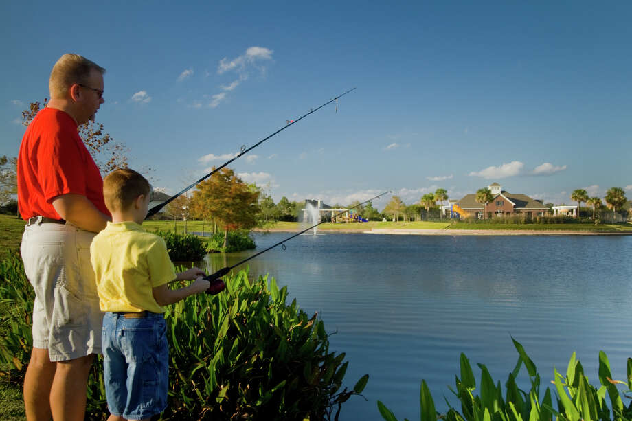 While a range of amenities can be enjoyed year round, kids will be back to school soon, with a new junior high opening near Lakes of Savannah. Photo: Carson Coots 832-755-1312 / Carson Coots