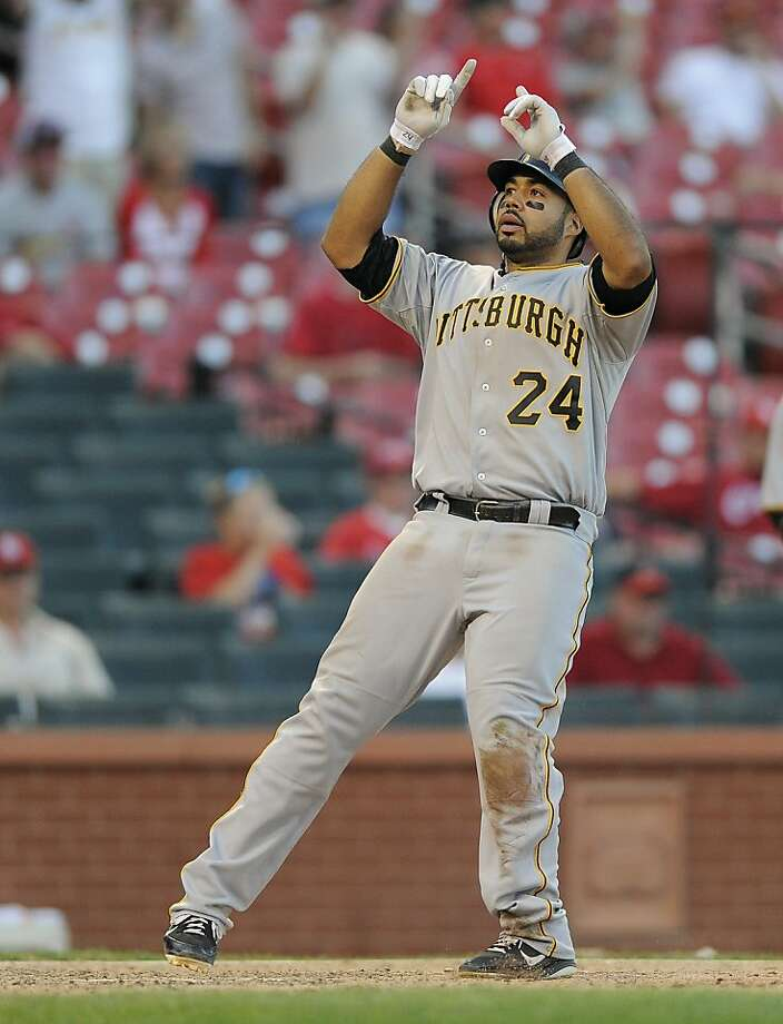Pedro Alvarez homered to break a tie in the 19th inning Sunday. Photo: Jeff Curry, Associated Press