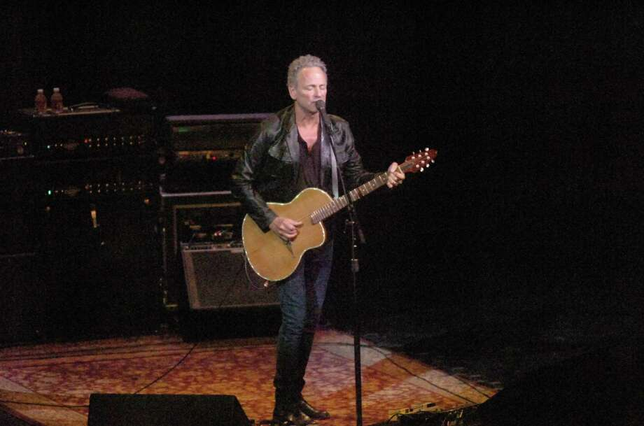 Lindsey Buckingham, famed Fleetwood Mac guitarist and singer, played the Lutcher Theater in Orange on Sunday during his U.S. tour. Photo: Sarah Moore