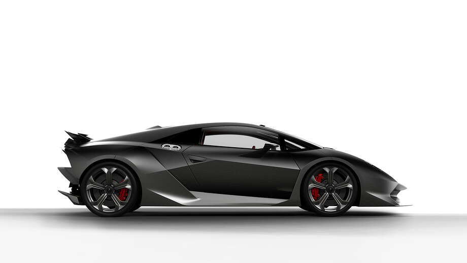 Lamborghini Sesto Elemento will set you back more than $2 million. Lamborghini makes on a handful of the models, which are made out of carbon fiber.