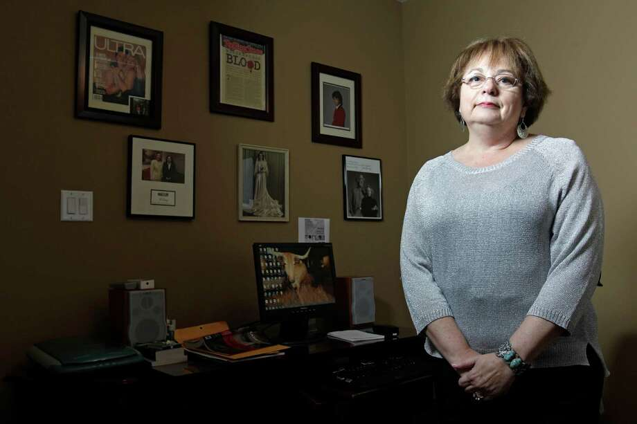 Kathryn Casey writes true crime books that tell the story of some of the most high-profile murder cases in Texas. Photo: Melissa Phillip, Houston Chronicle / © 2012 Houston Chronicle