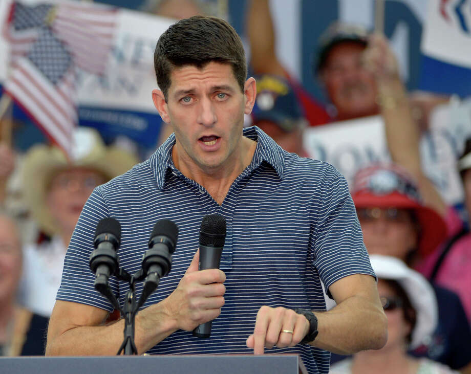 The Jesuits, in a letter, told Paul Ryan his budget reflects the values of Ayn Rand more than those of Jesus Christ. Photo: Phelan M. Ebenhack, Associated Press / FR121174 AP