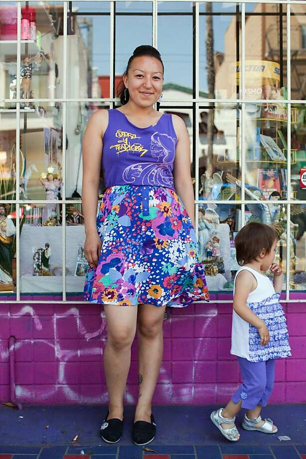 Nancy Maldonado is in a training group for young women. Photo: Cca