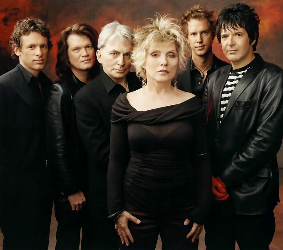 Blondie: bassist Leigh Foxx (left), Chris Stein, Debbie Harry, keyboardist Matt Katz-Bohen, Clem Burke. Photo: Press Here