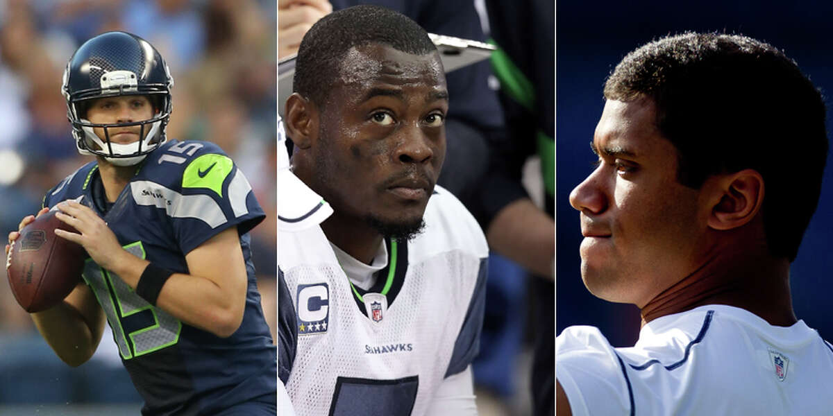 Of the three likely candidates for the starting spot, Matt Flynn appears to be the leader. Carroll, though, has said last year's starter Tarvaris Jackson could hold on to the position, and rookie Russell Wilson has had a promising preseason. But how will the Hawks' 2012 quarterback fair compared to his predecessors? Here's a look at the 21 men who've started for the team since it was created, ranked by their career quarterback rating as noted by NFL.com.
